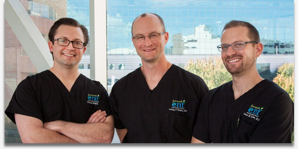 Fort Worth ENT & Sinus best doctors, Dr Watkins, Dr McIntyre, Dr Callahan